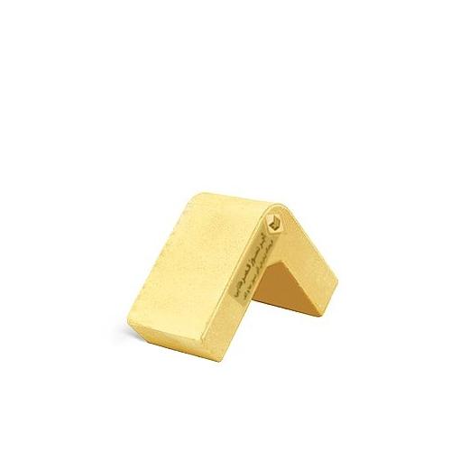 آجرنما رسی نیمه ال زرد 100x40x100mm