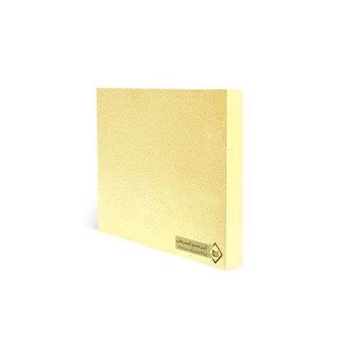 آجرنما رسی پلاک زرد 200x200x25mm