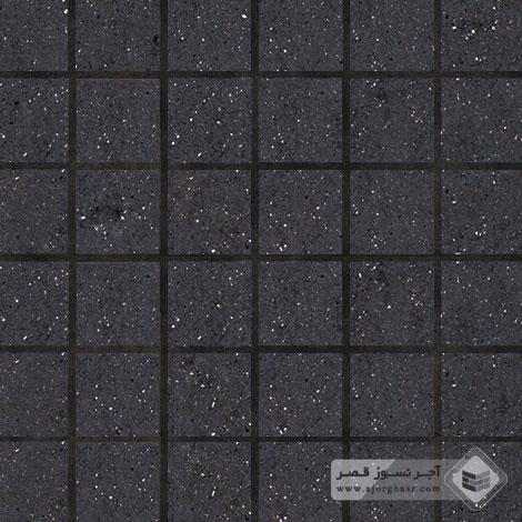 آجر نسوز پلاک ساده مشکی 100x100x25mm