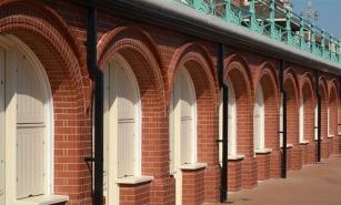 استفاده از آجر نسوز در پوشش کف و نمای ساختمان