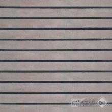 آجر شیل پلاک ساده کرم قهوه ای 600x50x25mm