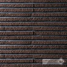 آجر نسوز پلاک رستیک قهوه ای 310x35x27mm