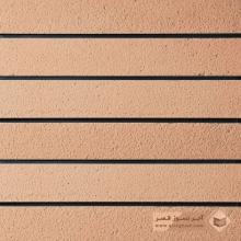 آجر شیل پلاک رستیک گلبهی روشن 600x100x27mm