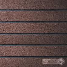 آجر شیل پلاک رستیک قهوه ای 600x100x25mm