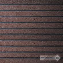 آجر شیل پلاک رستیک قهوه ای 600x50x25mm