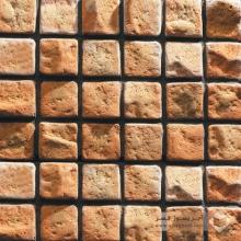 آجر شیل پلاک صخره ای گلبهی روشن 100x100mm