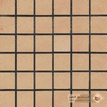 آجر شیل کف ساده گلبهی روشن 100x100x30mm
