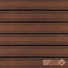 آجر پلاک شیل قهوه ای چهارخط 600x100x25mm