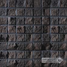 آجر نسوز پلاک صخره ای مشکی 70x70mm