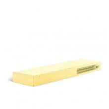 آجرنما رسی پلاک زرد 200x40x22mm