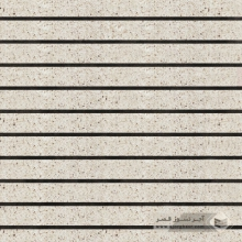 آجر نسوز پلاک ساده سفید صدفی 600x50x30mm