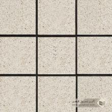 آجر نسوز پلاک ساده سفید صدفی 200x200x27mm