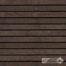 آجر نسوز پلاک ساده قهوه ای 600x50x30mm