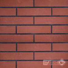 آجر شیل پلاک ساده قرمز تیره 310x70x25mm