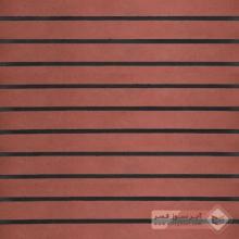 آجر شیل پلاک ساده قرمز تیره 600x50x25mm