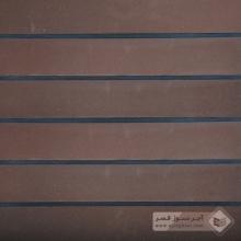 آجر شیل پلاک ساده قهوه ای 600x100x25mm